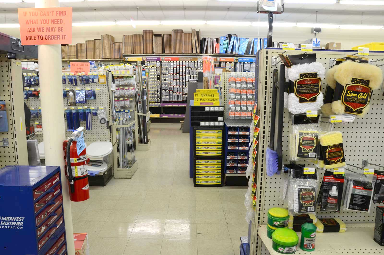 Automotive, Plumbing, Electrical & Household Supplies