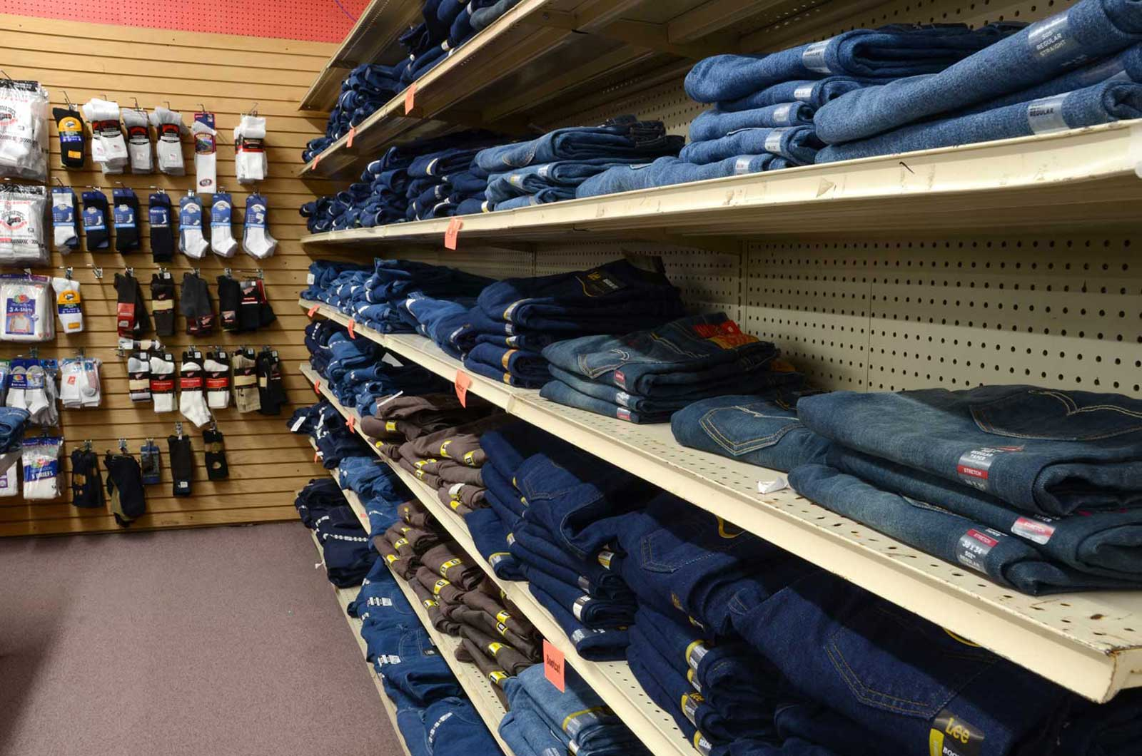 Men's Wear, Jeans and More